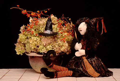 Halloween Flowers - — Photo Courtesy The Rittners School of Floral Design, Boston | by Flower Factor