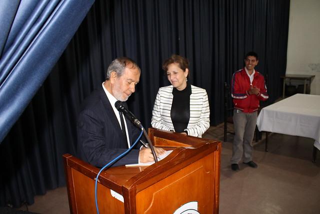 Alcalde visita la I.E.M Luis Eduardo Mora Osejo