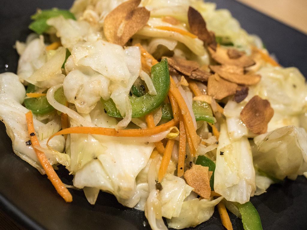 Yasai Itame (Stir fried vegetables)