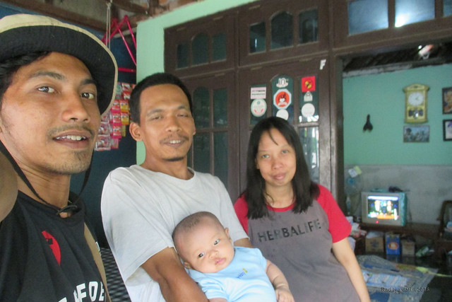 With Cak Wawa, Mbak Cipluk and Uning
