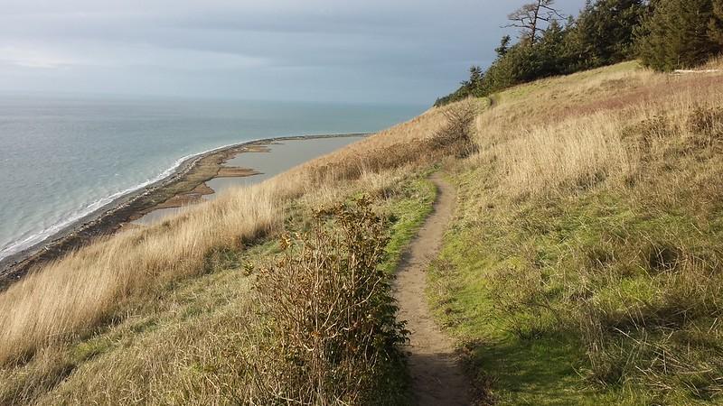 Bluff trail, Ebey's Landing