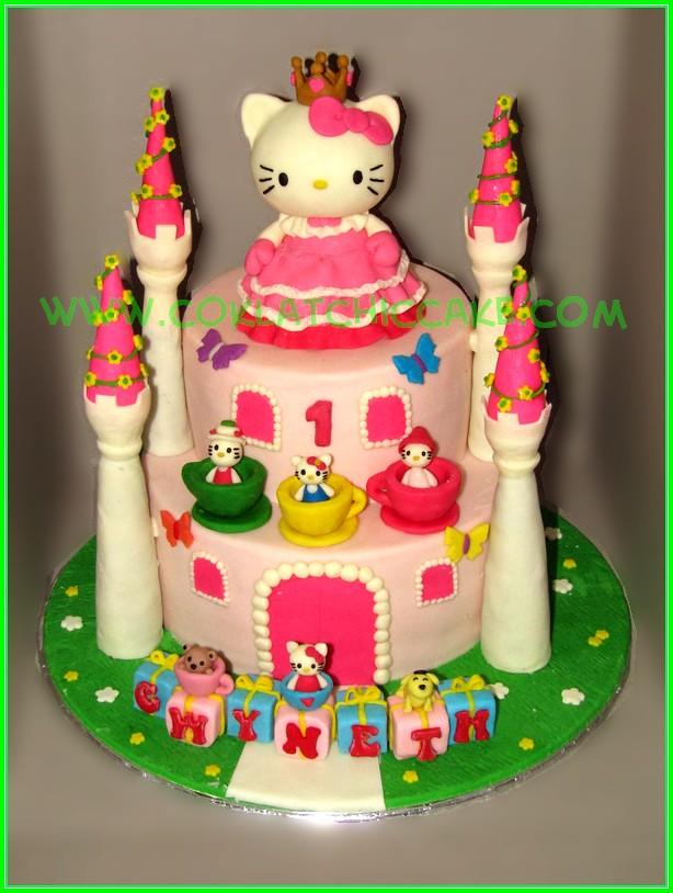 Cake castle Hello kitty
