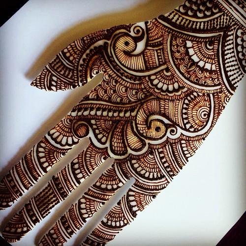 Mehndi For Practice : Today s henna practice inspired by haya designs he