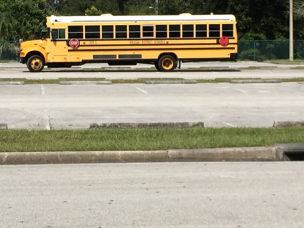 Volusia County School Bus | Bus 309-S This bus stays parked … | Flickr
