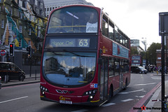 Volvo B9TL Wright Eclipse Gemini 2 - LX59 CZZ - WVL313 - Go Ahead London London Central - King's Cross London - 140926 - Steven Gray - IMG_0317
