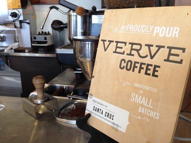 Verve is served here