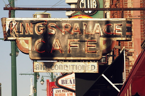 King's Palace Cafe Neon Sign - Beale St.