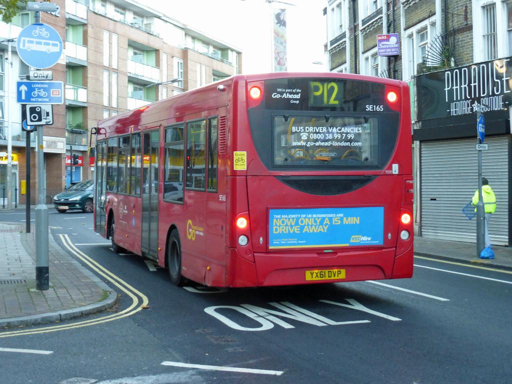 gal se165 - yx61dvp - peckham - mon 10th nov 2014 | bexleybus | flickr