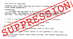 1964 Louisiana Literacy Test Harvard Test Find The Image A Flickr