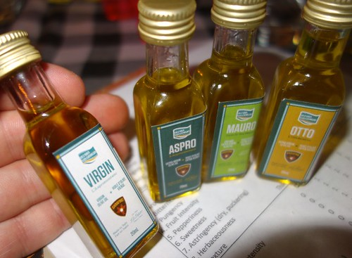 Sarafino Foods Gifts Tiny Pure Olive Oil Taster Bottles