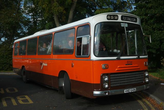 Leyland Leopard coach 81, The Woodthorpe
