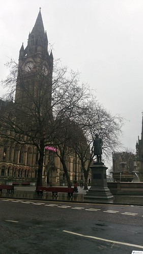 Manchester Town Hall, Albert Square | by sinemözel