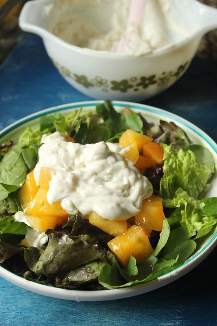 Hierloom Tomato and Blue Cheese Salad