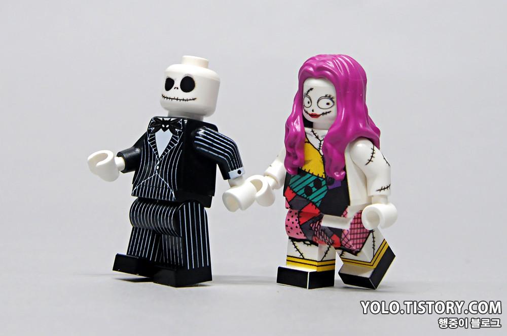 lego the nightmare before christmas minifigures by hobbybrick by ykwan0714