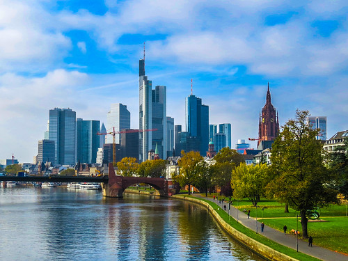 Frankfurt Skyline | by Kiefer.