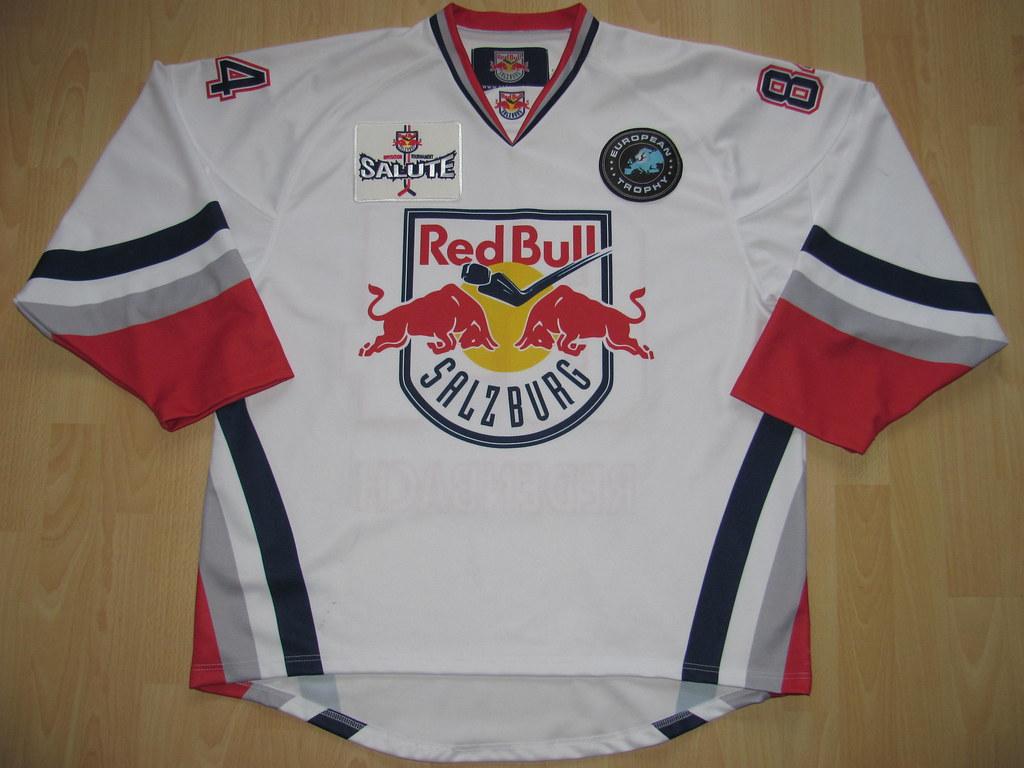 67ab33574 kirusgamewornjerseys EC Red Bull Salzburg 2011 - 2012 European Trophy Game  Worn Jersey