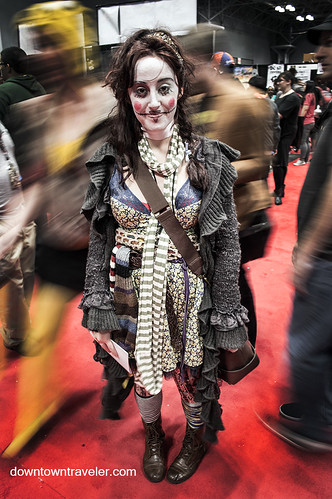 NY Comic Con 2014 Living Doll | by Downtown Traveler