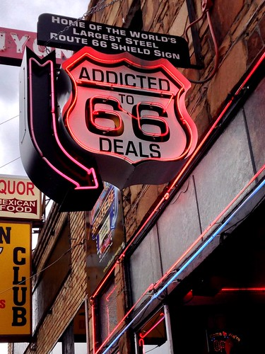 Addicted to Route 66 Deals - Route 66, Williams. Arizona | by RoadTripMemories