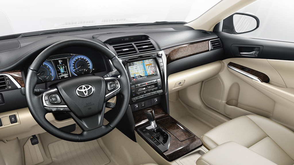 Lovely ... Toyota Camry 2014 Interior | By Toyota Motor Europe