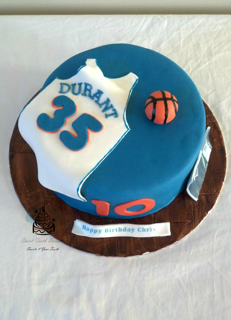 Kevin Durant Basketball Birthday Cake 9in Kevin Durant 10t Flickr
