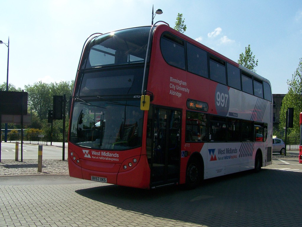 100603 100421 West Midlands Travel Limited 4772 Bv57xks By Bus Buster