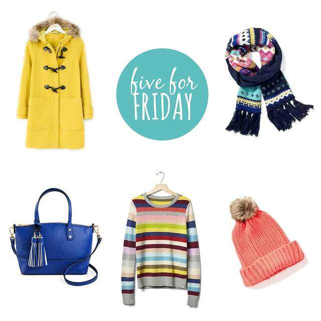 five for friday winter brights | Style On Target