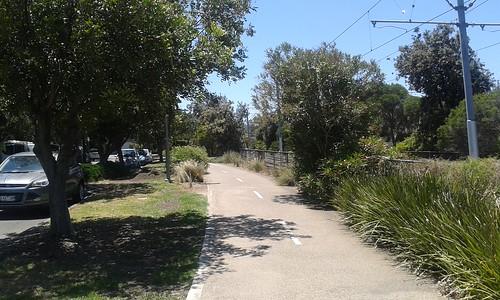 Port Melbourne shared path
