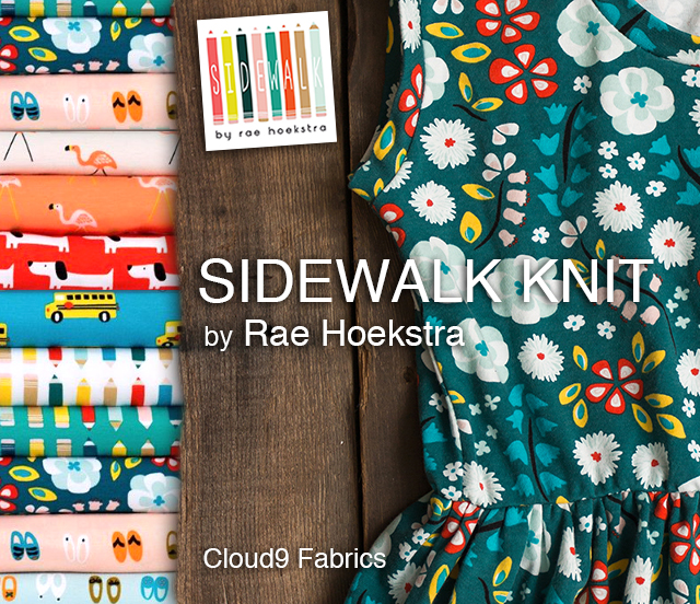 Cloud9 Fabrics Sidewalk Collection by Rae Hoekstra
