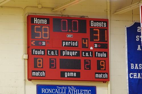 Boys Basketball vs Chatard