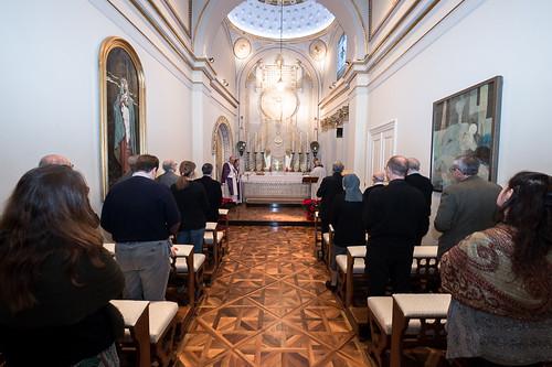 23 Dicembre 2016 - Celebrazione eucaristica per gli addetti e volontari della Curia vescovile