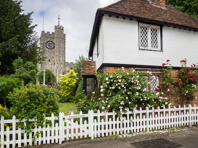 Clements' Cottage, Chilham, Kent