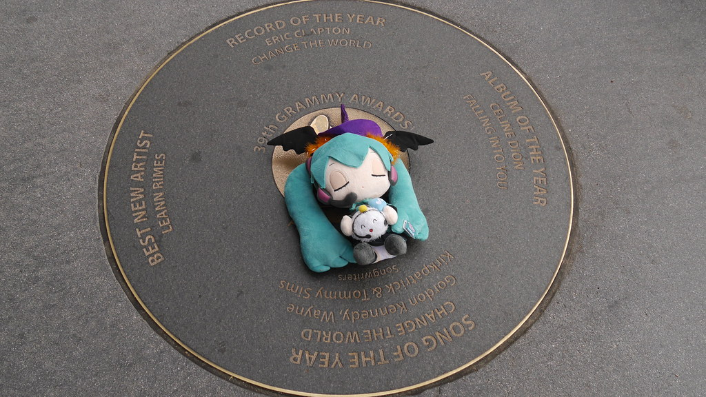 第39回グラミー賞記念碑 | 水月...