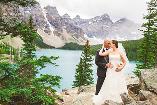 Melissa & Troy - After Wedding Session at Moraine Lake | by Shauna Stanyer (Northern Pixel)