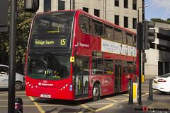 Alexander Dennis Trident Enviro 400 - LX61 DDA - 12153 - Stagecoach - London - 140926 - Steven Gray - IMG_0122