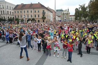 Dancing in the Square - © City of Ljubljana | by EUROPEAN MOBILITY WEEK