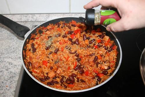 49 - Mit Bohnenkraut & Chiliflocken abschmecken / Taste with savory & chili flakes