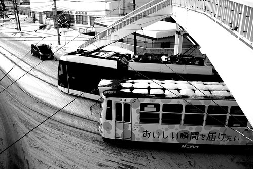 Tramcars at Sapporo on DEC 29, 2016 (68)