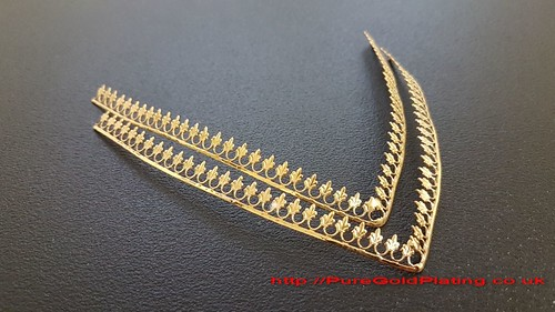Gold Plated Armour Trim | by PureGoldPlating