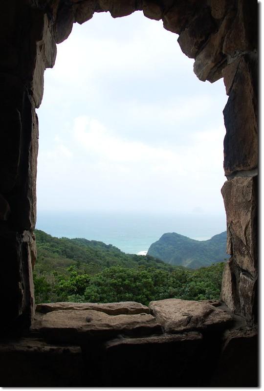 觀景台看海