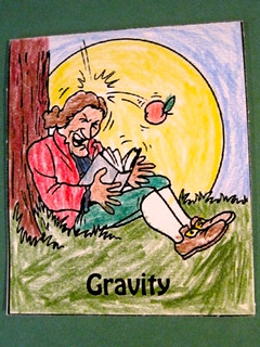 Gravity Mini Book | by prayingmother