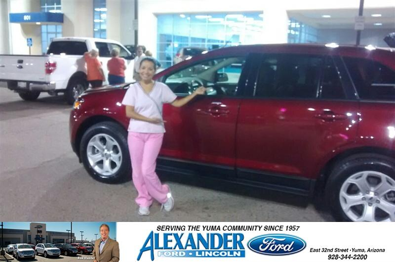 Congratulations To Lucy Adair On Your Ford Edge Purchase From Lucy Adair At Bill