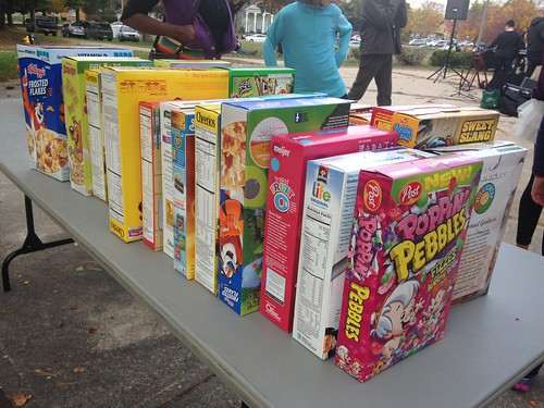 Cereal Boxes Donation Food Bank | by stevendepolo