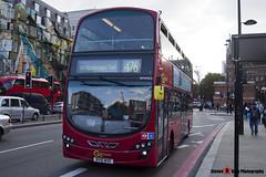 Volvo B9TL Wright Eclipse Gemini 2 - BV10 WVE - WVN32 - Go Ahead London London Central - King's Cross London - 140926 - Steven Gray - IMG_0393