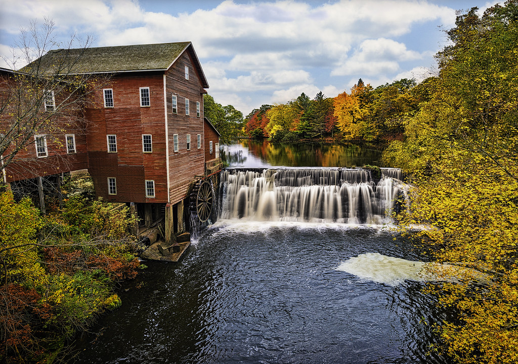 ... wisconsin fall colors - dells mill | by Dan Anderson.