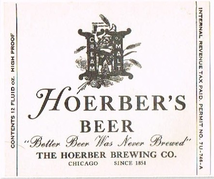 Hoerbers-Beer-Labels-Hoerber-Brewing-Company | by jbrookston