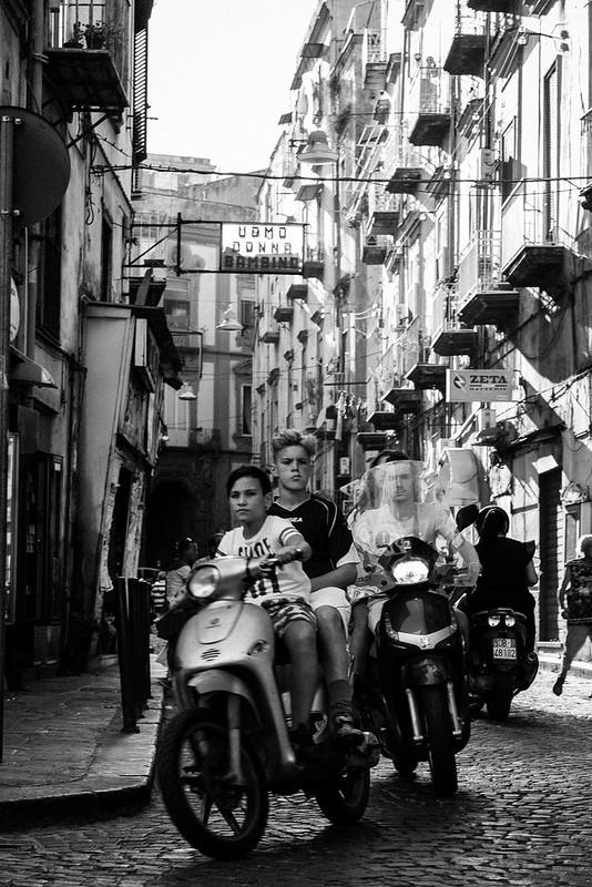 Nápoles, B/N