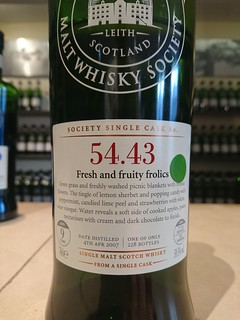 SMWS 54.43 - Fresh and fruity frolics