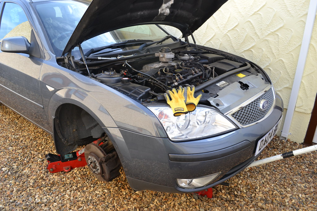 ... HOME DIY CAR REPAIRS FORD MONDEO ESTATE TDCI MK3 108000mls   changing the serpentine fanbelt & HOME DIY CAR REPAIRS FORD MONDEO ESTATE TDCI MK3 108000mlu2026 | Flickr markmcfarlin.com