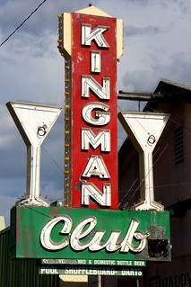 Kingman Club Sign, Beale Street, Kingman, Arizona | by RoadTripMemories