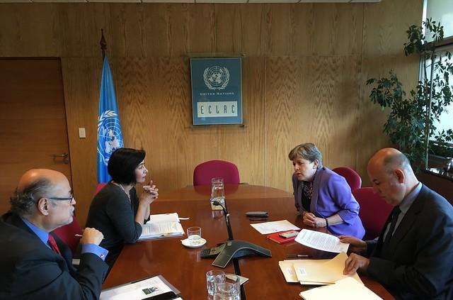 Inicia visita de la Subsecretaria Flores Liera a Chile